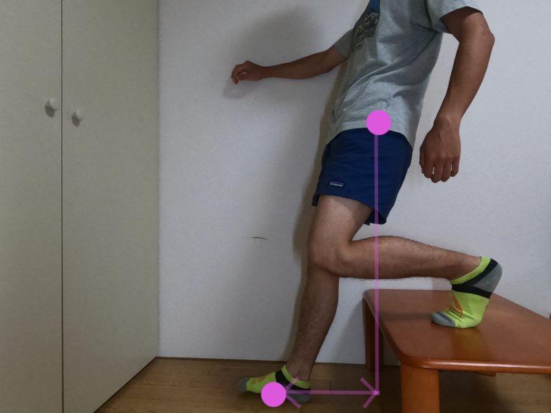 足を痛める歩き方