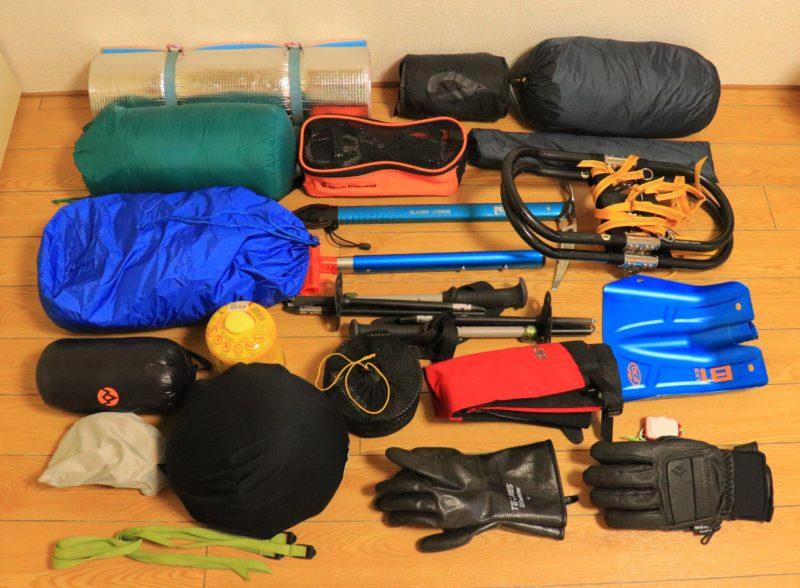 雪山テント泊の装備