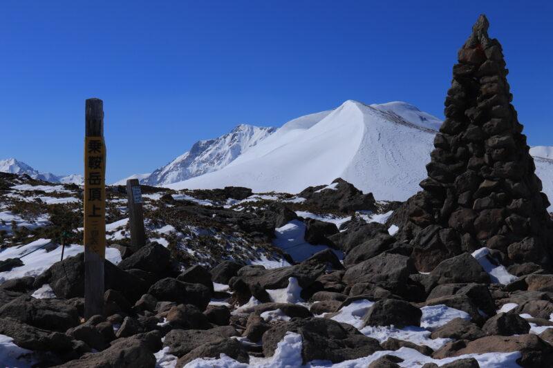 冬の白馬乗鞍岳